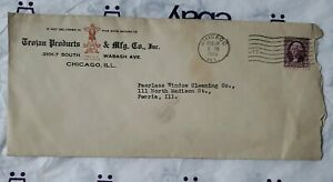 Advertising Letter Trojan Products & Mfg Co Inc Chicago ILL Envelope