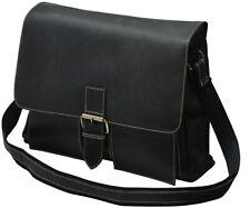 Messengerbag Messengertasche Umhängetasche echt Leder braun Vintage Look