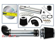BCP BLACK 97-03 Ford F150 4.2L V6 Short Ram Air Intake Induction Kit + Filter