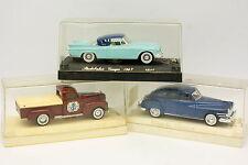 Solido 1/43 - Lot de 3 Studebaker Dodge Chrysler
