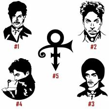 Prince Vinyl Decal Sticker Car Window Rogers Nelson American Singer USA Seller