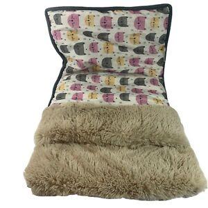 Cat Sleep Zone Burrow Pet Bed Snuggle Pillow