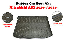 Rubber Trunk Liner Mat Boot Cargo Tray Alfombra Cubeta fit Mitsubishi ASX 2010-