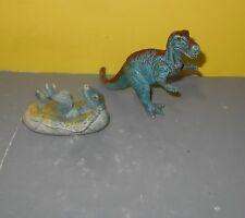 Aaa Baby Allosaurus Hatching & T-Rex Tyrannosaurus Dinosaur Toy Figures
