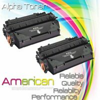 2PK CF280X 80X Black Toner Cartridge for HP LaserJet Pro 400 M401n M401dn M401dw
