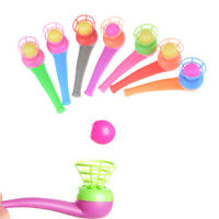4pcs Kid Plastic Pipe Balls Toy Blow Blowing Toys Children Gift Wedding PartyBS