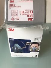 3M Respirator 7502 Size M WITH FILTER