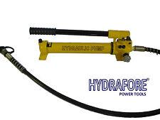 Hydraulic hand pump 700 bar 350 ccm - two stage