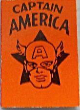 1966 MARVEL MINI BOOK CAPTAIN AMERICA ORANGE NM RARE GIVEAWAY PROMO PROMOTIONAL