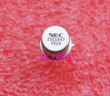 2pcs NPN Transistor 2SC1947 C1947 TO-39 NEC/MIT