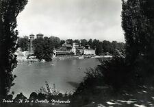 * TORINO : Il Po e Castello Medioevale * Viaggiata Anno 1955