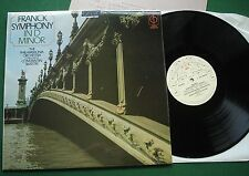 Franck Symphony in D Minor Philharmonia Orchestra Constantin Silvestri LP