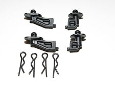 80938 TEAM ASSOCIATED RC8T3.1e TRUGGY BODY MOUNTS WITH PINS