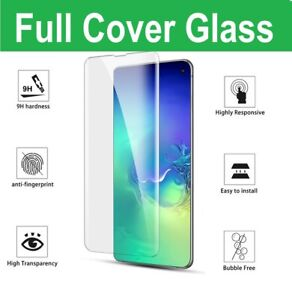 For Samsung Galaxy S10 S20 Plus Tempered Glass Screen Protector Film Curve