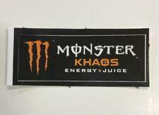 Monster Energy + Juice Drink KHAOS Sticker (1) Unused NOS