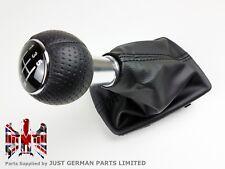 AUDI A4 B6 B7 [2001-2007] 5 SPEED MANUAL GEAR SHIFT KNOB & GAITER BLACK