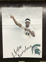 Gabe Brown Michigan State Spartans autographed signed 8x10 photo Edit COA Izzo