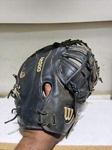 """Wilson A2000 Pro Stock PSB 12"""" First Base Mitt Glove Baseball R-HAND PERRY"""