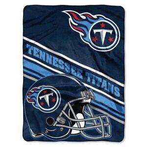 "Tennessee Titans Slant Design 60"" x 80"" Royal Plush Blanket by Northwest"