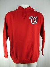 Washington Nationals MLB Majestic Men's Big & Tall Pullover Sweatshirt