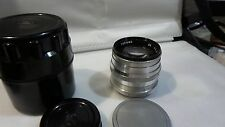 Zorki ZK lens 1.5 1,5/50 Russian lens for FED Zorki Leica M39 mount camera 6072