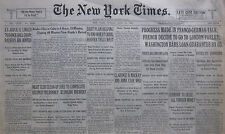 7-1931 JULY 19 GERMANY TO SEIZE FOREIGN MONEY. FRANCO-GERMAN TALK PARLEY LONDON