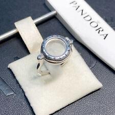 New UK Circle Floating Locket Ring OPENS Put Mini inside UK #197251 Pandora