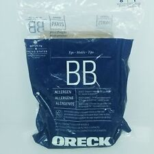 Oreck BB 8 Replacement Bags For Canister Handheld Model Green 99% Filtration
