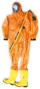 Trellchem BUTYL L-45 Gas & Chemische Schutz Anzug Chemische Sicherheit Anzug