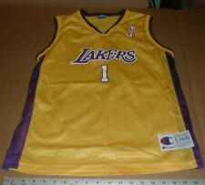 6f44f439 Los Angeles Lakers #1 New NOS Basketball Jersey LG14-16 Boys NBA Champion  brand