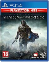 Middle Earth Shadow of Mordor PS4 - New and Sealed
