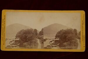 PENNSYLVANIA CENTRAL RAILROAD - KITTATINNY MOUNTAIN VIEW 1870'S ~ W.T. PURVIANCE