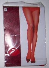 Leg Avenue Red Fishnet Pantyhose Plus Size VALENTINE