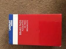 UNIPART GBP918AF BRAKE PAD SET(x4) FORD FIESTA MK4,KA,PUMA,COURIER,MAZDA 121 MK3