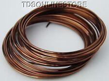 Square 18GA Beadsmith Antique Copper Color Non Tarnish  Wire 7 Yards