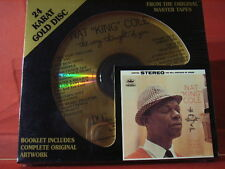 "DCC GZS-1119 NAT KING COLE "" THE VERY THOUGHT "" (24 KT GOLD COMPACT DISC/SEALED)"