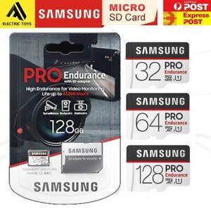 Samsung Endurance Pro 32GB 64GB 128GB Micro SD Card Surveillance DashCam 100MB/s