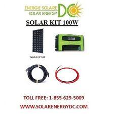 Solar Panel KIT Panneau Solaire 100 Watt Mono MPPT30A charger cable MC4 BOAT RV