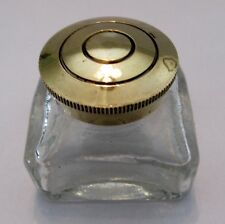More details for antique brass inkwell. 42 or 47 mm