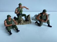 MATTEL VINTAGE HEROES IN ACTION ARMY LOT PART(S)