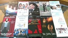 VHS Movies Lot Of Ten