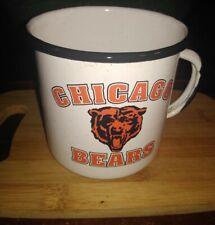 Chicago Bears Enamelware Mug