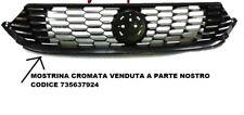 GRIGLIA PARAURTI ANTERIORE FIAT TIPO 2016> ORIGINALE FIAT 735642866 NUOVO