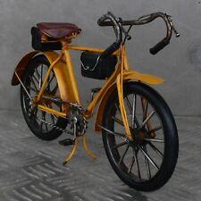 XL Blechmodell Fahrrad 26cm gelb Rennrad Metallmodell Bike Rad Blech Metall NEU