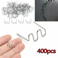 Accessories Wave Staples Stainless Steel Silver Replacement 400Pcs Portable