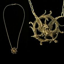 Vintage 1930s French Mythological Dragon Necklace Unique Gift Idea