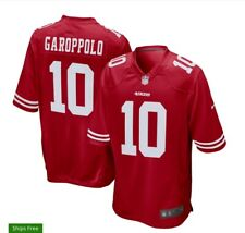 JIMMY GAROPPOLO SAN FRANCISCO 49ERS NIKE ON FIELD JERSEY NEW NWT MENS XL RED