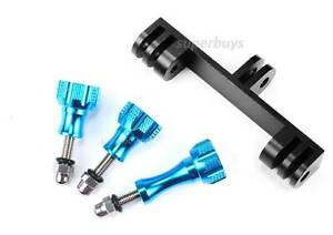 4pcs Double Bracket Aluminium Camera Handle Arm Screws Mount Mounted GoPro Hero