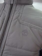 Timberland Grey Padded Gilet Vest Bodywarmer Quilted M