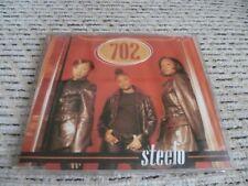 "702 ""Steelo (Remix)"" UK CD Single (1996) Ft. Missy Elliott"